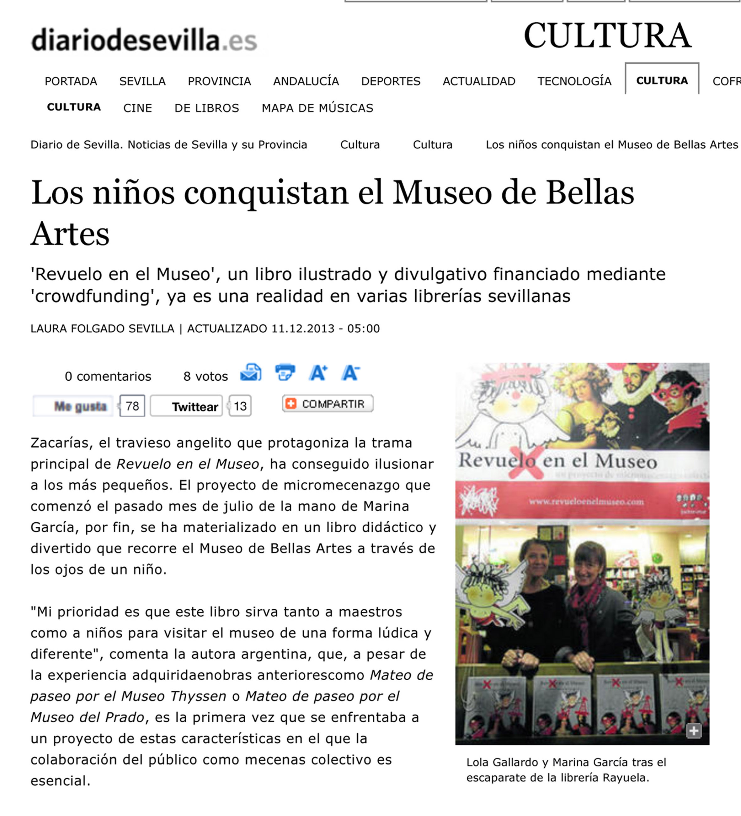 Los ni–os conquistan el Museo de Bellas Artes